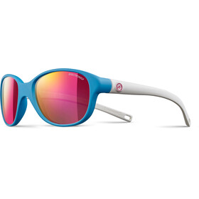 Julbo Romy Spectron 3CF Sunglasses Kids 4-8Y Matt Blue/Matt White-Multilayer Pink